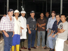 Visitation of MLA & Warwick Cattle Crush Co.
